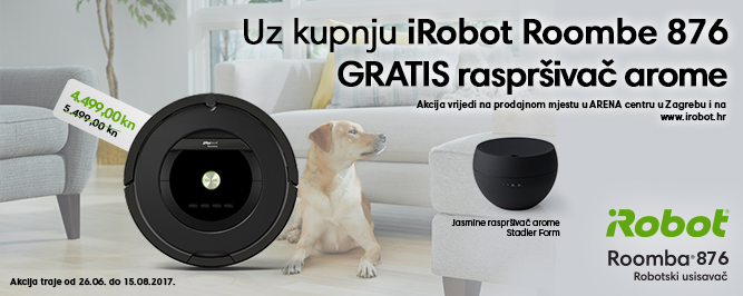 Roomba 876 banner