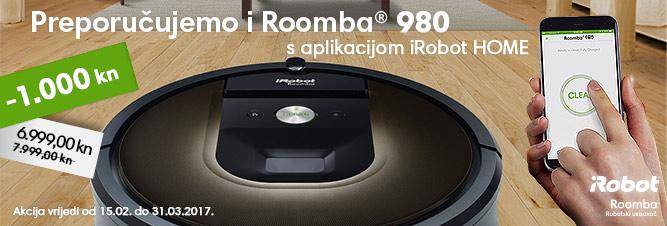 Roomba 980 banner