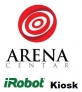 ARENA centar iRobot kiosk logo
