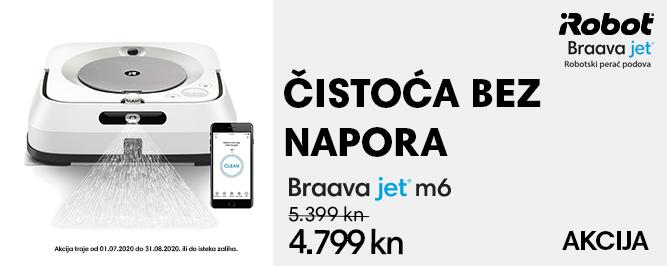 Braava jet® m6 banner