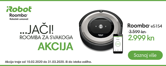 Roomba e5154 banner