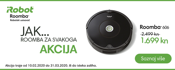 Roomba 606 banner