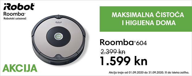 Roomba 604 banner