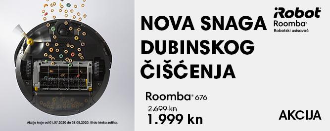 Roomba 676 banner