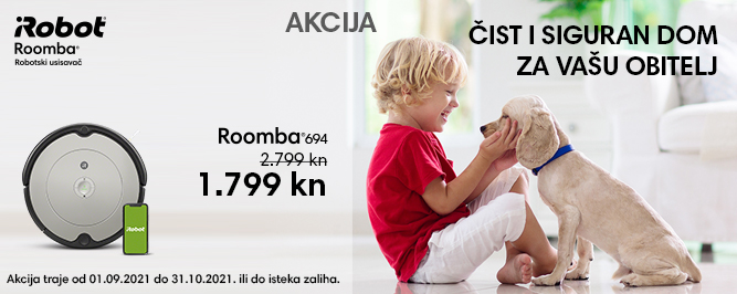Roomba 694 banner