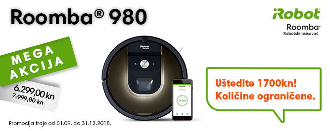 Roomba 980 banner