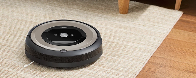 Roomba e6198 Outlet banner