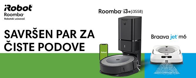 Roomba i3+(i3558) & Braava jet m6 banner