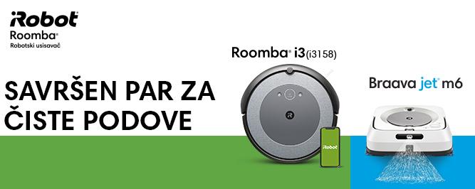 Roomba i3(i3158) & Braava jet m6 banner