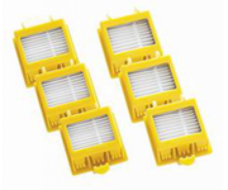 Set Dual AeroVac filtera